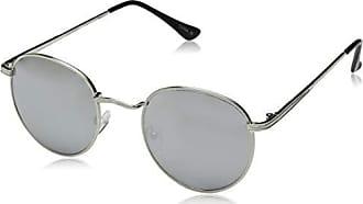 3cf4b5bc1d59 Steve Madden Womens Sm465118 Round Sunglasses, Silver, 50 mm
