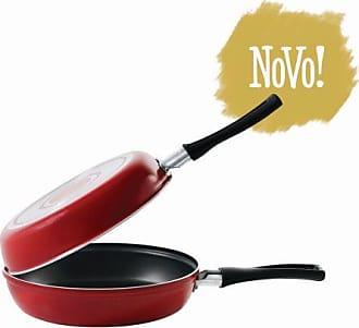 Brinox Omeleteira Garlic 0,75L Vermelha 18X7,5cm - Lifestyle - Vermelho - Único BR