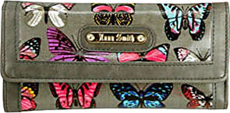 Saute Styles Ladies Authentic Anna Smith Patent Butterfly Purse Women Wallet Bag Boxed Gift
