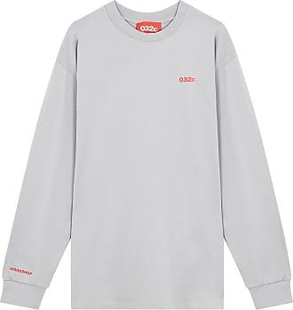 032c Cosmic Workshop grey long-sleeved t-shirt
