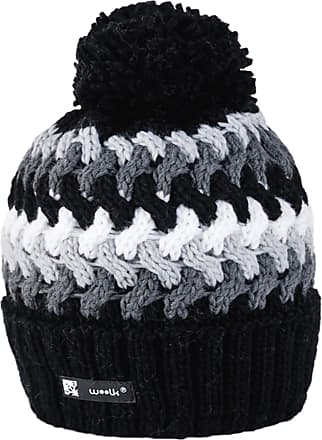morefaz WOOLY Knitted Cookies Style Beanie Hat with Ponpon Mens Womens Winter Warm SKI Snowboard Hats (Cookies 39) MFAZ Morefaz Ltd
