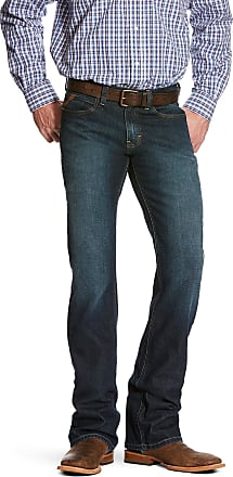 Ariat Mens M7 Rocker Stretch Legacy Stackable Straight Leg Jeans in Fremont Cotton, Size 30 30, by Ariat