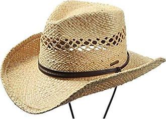 Damen Cowboyhut Cowgirl Hut braun Westernhut Cowgirlhut Stetson Cattleman Kostüm