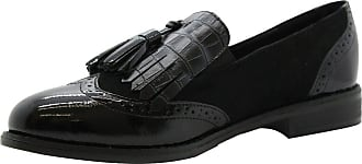 Saute Styles Ladies Womens Flats Tassel Tartan Brogues Loafers School Office Pumps Shoes Size 6