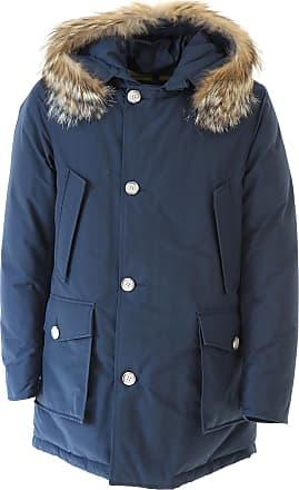 Woolrich Mantel für Herren, Trenchcoat Günstig im Sale, Blau, Baumwolle, ... be12c5b681