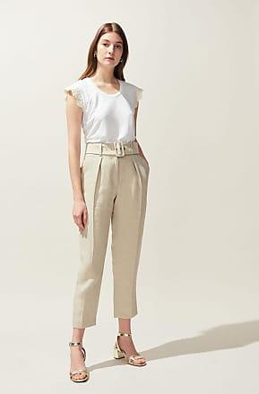 367685341 Pantalons En Lin Femmes : 329 Produits jusqu''à −80% | Stylight