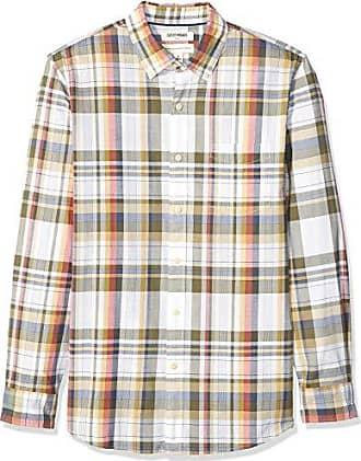 Goodthreads Standard-Fit Short-Sleeve Madras Shirt Uomo Marchio