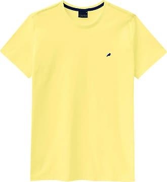Enfim Camiseta Slim, Enfim, Masculina, Amarelo, GG