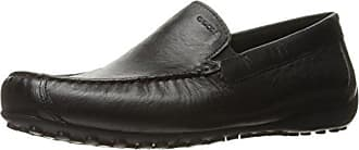Geox Mens Msnakemoc2fit3 Slip-On Loafer, Black, 40 EU/7 M US