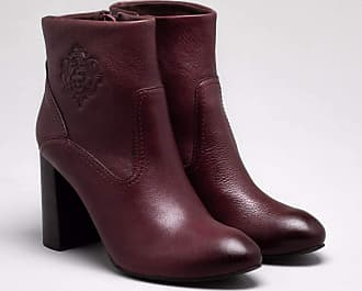 Capodarte Ankle Boot Couro Cacau 36