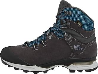 5052573f Hanwag Womens Hiking Shoes Asphalt/Ocean Standard Size Grey Size: 42.5