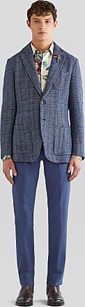 Etro Cotton Trousers With Tucks, Man, Size 48