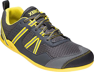 Xero Shoes Prio - Mens Minimalist Barefoot Trail and Road Running Shoe - Fitness, Athletic Zero Drop Sneaker Black Size: 11.5 Wide