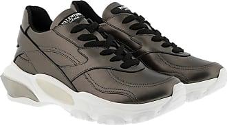 Valentino Sneakers - Bounce Metallic Low-Top Sneaker Silver - silver - Sneakers for ladies