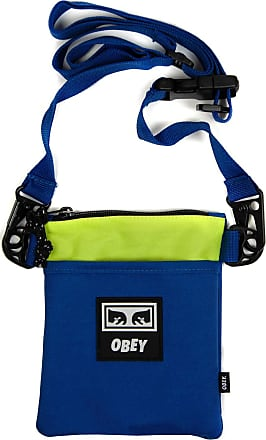 Obey Conditions Side Pouch III in Blue Multi