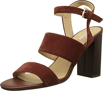 0e2ccd5f44c Geox D Audalies High Sandalo A, Womens Wedge Heels Sandals, Brown  (Cigarc6007)