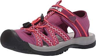 kamik Womens Islander2 Closed Toe Sandals, Purple (Plum Plu), 4 UK
