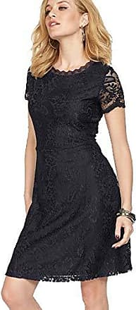 1f50bfb66bd6ca Only Damen Kleid Mystery Lace Spitze (Dunkelblau (Night Sky), S)