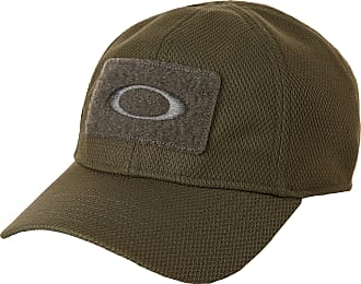 Oakley Mens SI Cap Hat, Worn Olive, Small/Medium