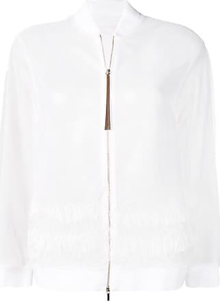 Fabiana Filippi fringed jacket - Neutrals