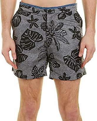 3aad57d0a5 Scotch & Soda Mens Printed Melange Swim Short with Cut & Sewn Waistband, ...