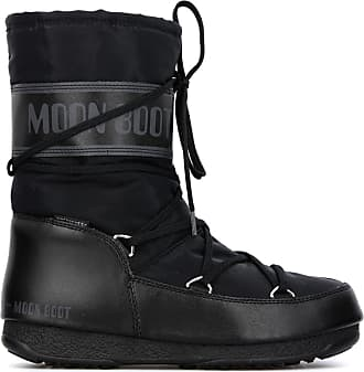 Boot ski Noir Mid Après Moon WE Shade WP Moon Boot QBWrxEoCde