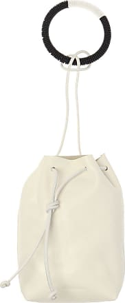 Jil Sander Handbag With Logo Womens Cream