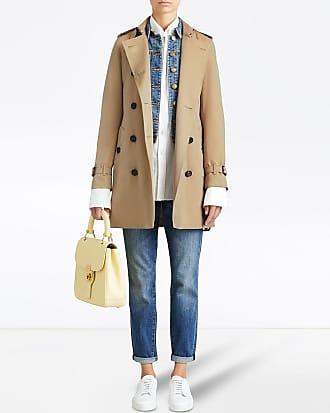 Burberry Trench coat midi Kensington - Neutro