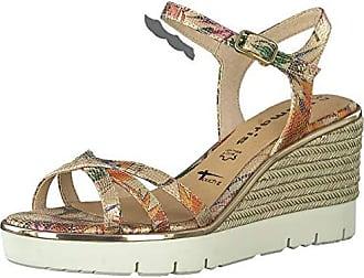 Tamaris Damen Keil Sandaletten RoséFlower   Trendbereich