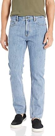 Obey Mens New Threat Slim Denim Jeans II, Light Indigo, 31