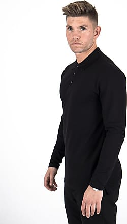 Perform Collection Performance L/S Polo Shirt - Black