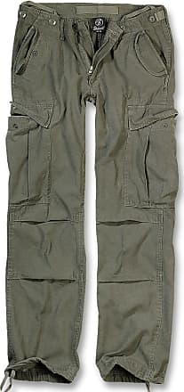 Brandit M65 Ladies Vintage Trouser Cargo Hose oliv, Größe 27W