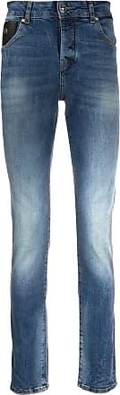 John Richmond Calça jeans slim - Azul