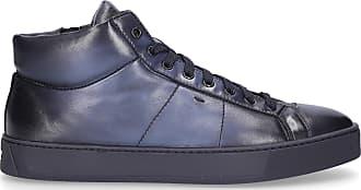 Santoni Flat Shoes Blue 20851