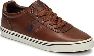 Ralph Lauren Hanford Leather TAN, Mens Sneakers, 42