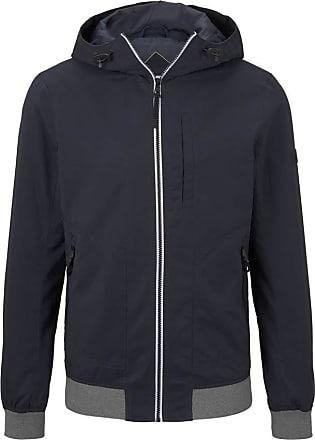 Tom Tailor Denim Mens Kapuzen Hoody Jacket, 10668-Sky Captain Blue, L