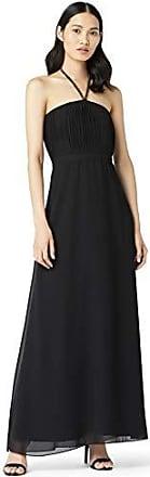 Black Black 42 TRUTH /& FABLE Vestito Elegante con Inserto in Pizzo Donna Nero Marchio Label: S