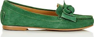 Madeleine Wildleder-Mokassins mit Zierschleife in grün MADELEINE Gr 36 für Damen. Synthetik