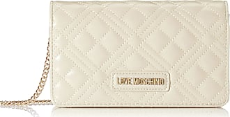 Love Moschino Jc4093pp1a Womens Top-Handle Bag, Off-White (Avorio), 4x11x18 centimeters (W x H x L)