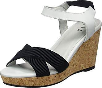Shoe The Bear Damen Alec L Durchgängies Plateau Sandalen mit Keilabsatz,  Mehrfarbig (170 Blue c3a6eb85a9