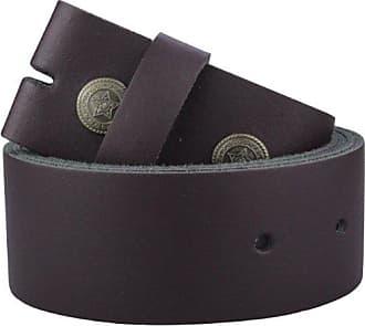 Echtleder Gürtel Wechselgürtel schwarz für 3,5 cm Buckles Gürtelschnallen Leder
