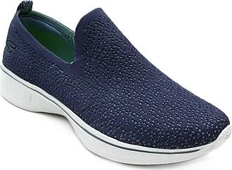 6275b7e6d7 Skechers Tênis Skechers Go Walk Feminino - Azul+cinza - 36