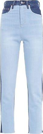 N.Y.B.D. Calça Skinny Bicolor Jeans N.Y.B.D - Azul