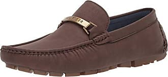 Tommy Hilfiger Mens Aaron Driving Style Loafer, Brown, 10 Medium US