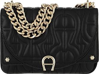bb6bce27fb954 Aigner Diadora Crossbody Bag Black Umhängetasche schwarz