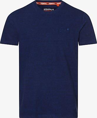 Superdry Herren Wecker-T-Shirt Blau