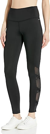 Jockey Womens Crossover Ankle Legging, Deep Black, Large