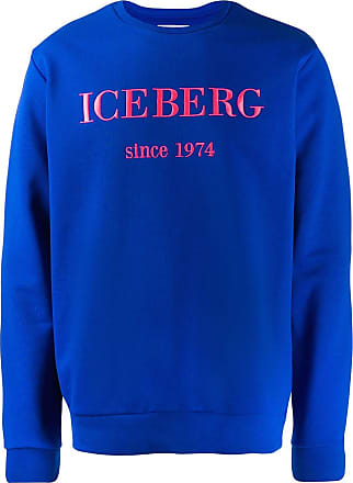 Iceberg logo sweatshirt - Blue