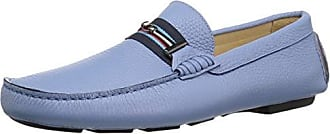 Bugatchi Mens Driver Driving Style Loafer, Azzurro, 12 Medium US