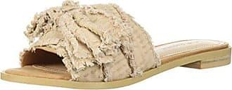 Kelsi Dagger Womens Revere Flat Sandal, tan, 10 M US